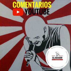 COMPRAR COMENTARIOS YOUTUBE