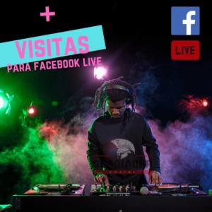 VISITAS FACEBOOK LIVE